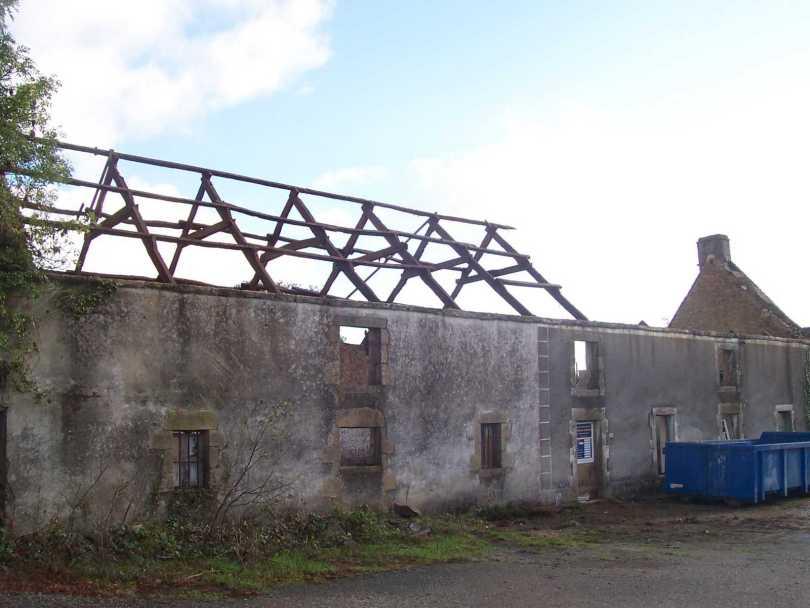 le début de la rénovation novembre 2005